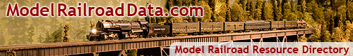 ModelRailroadData.com Model Railroad Links Directory and Search Engine